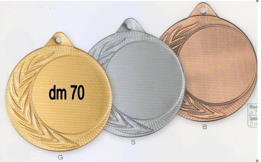 medaglie di ogni misura