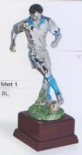Trofei in resina metallizzata