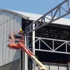 costruzione capannoni