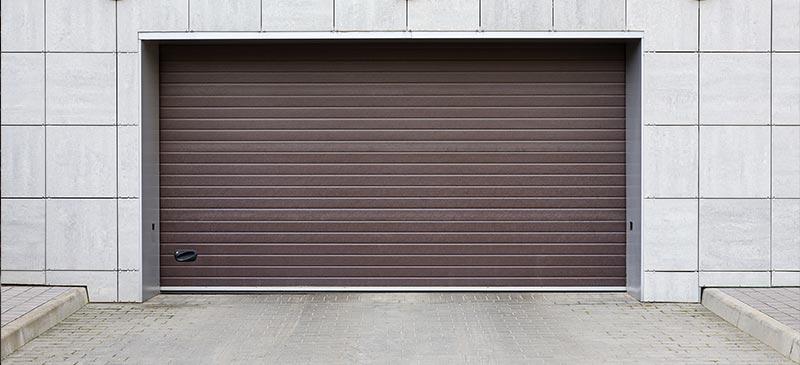 commercial-brown-roller-door