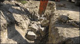 scavi fosse biologiche fognature