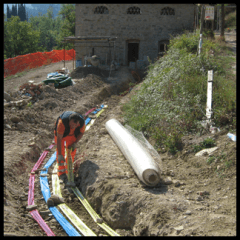 scavi per canali