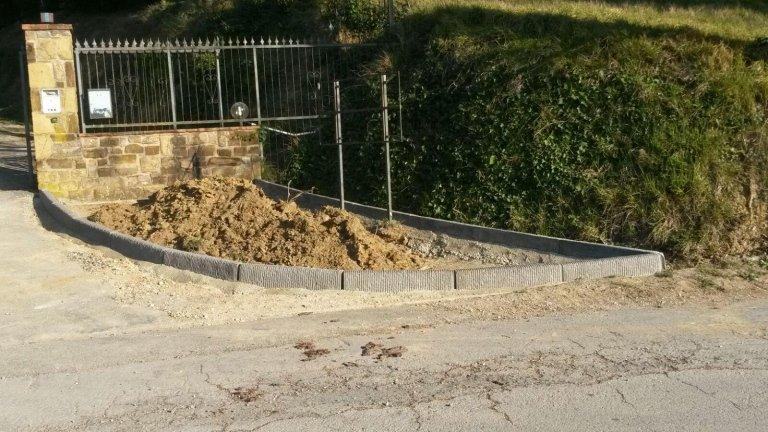 ultimi lavori movimento terra scavi e giardini