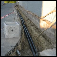 scavi per impianti