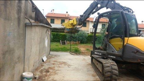 Demolizioni per ristrutturazioni