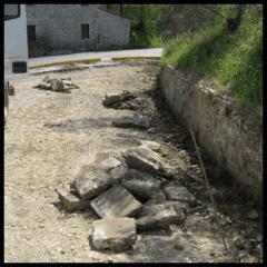 riparazione asfalto strada privata