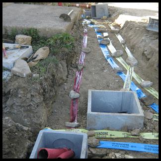 canali per irrigazione