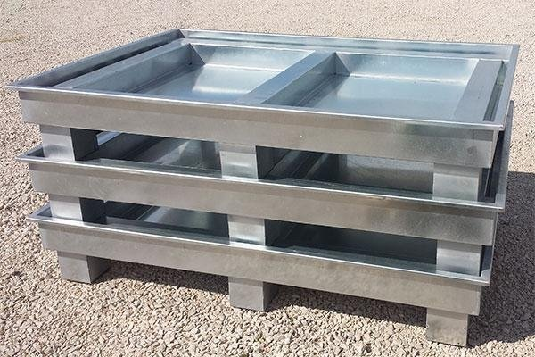 Carpenterie e semilavorati in acciaio ed acciaio inox per uso civile ed industriale Metalsud 2008