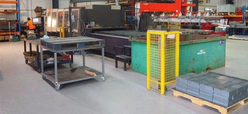 australian general engineering laser cutting machine and workshop