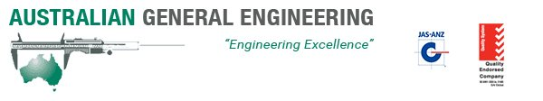 australian general engineering business logo