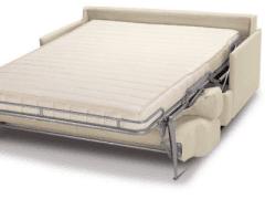 divano, letto, materasso
