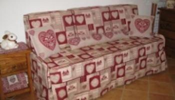 divano, lavori di sartoria