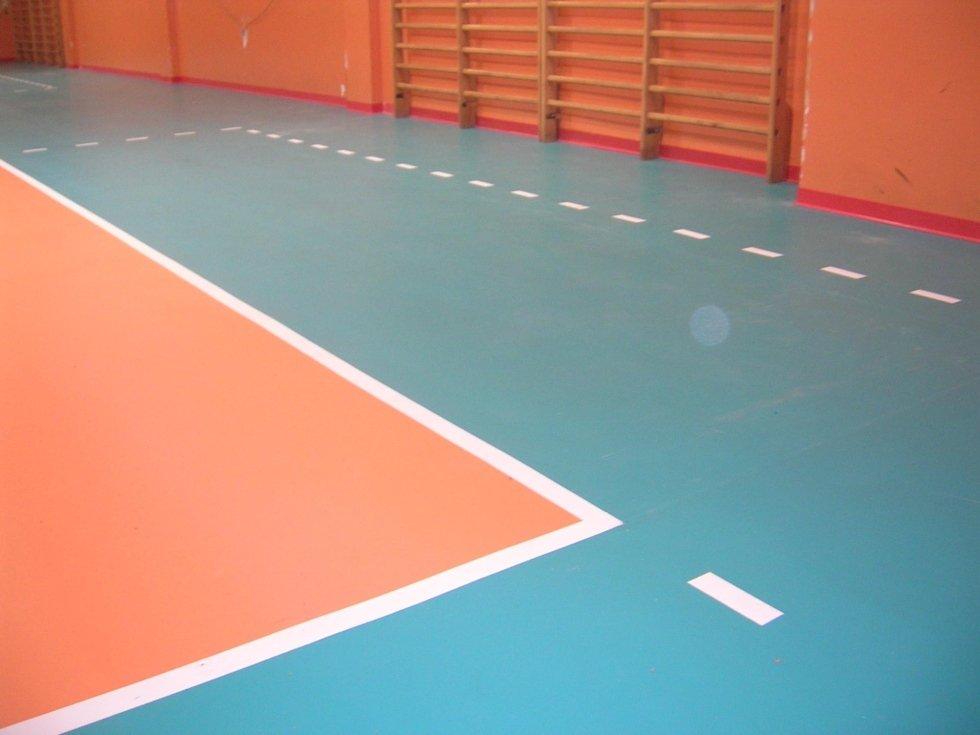 pavimentazione bicolore