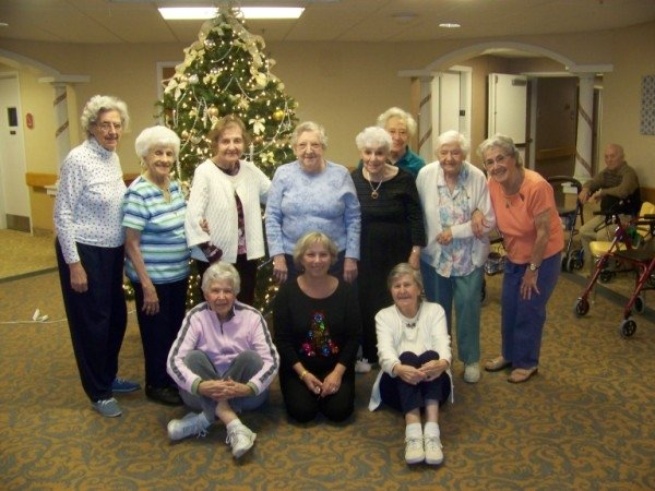 Group pic of aged at Park Creek