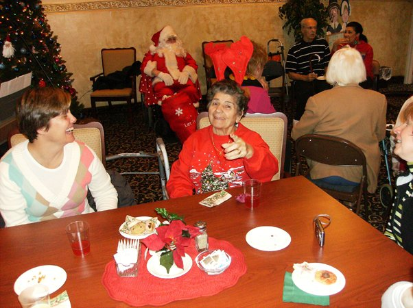 Christmas event organised for the aged