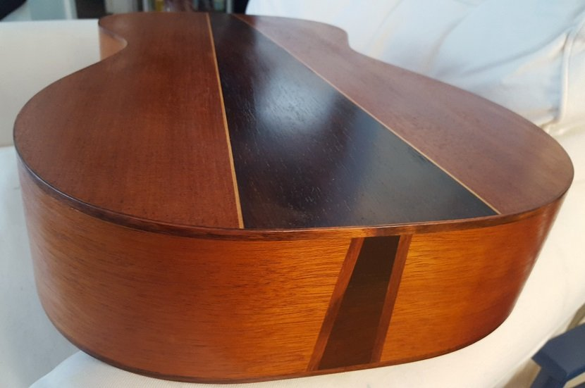 Brazilian rosewood 3 piece back