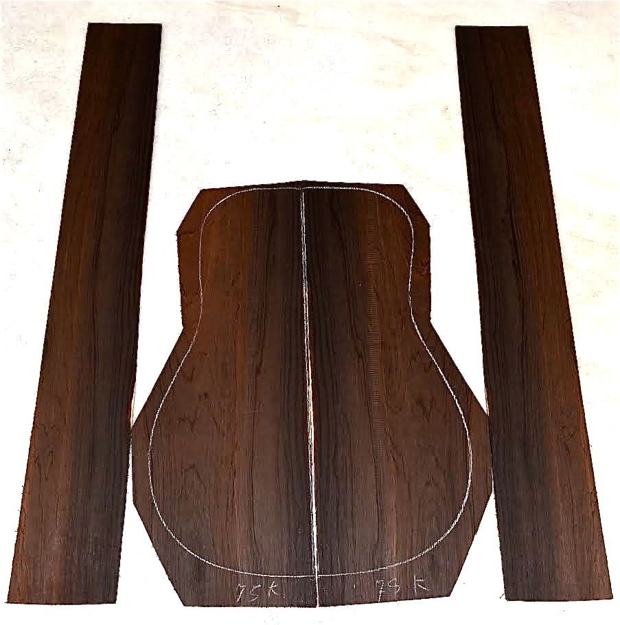 Brazilian Rosewood luthier set