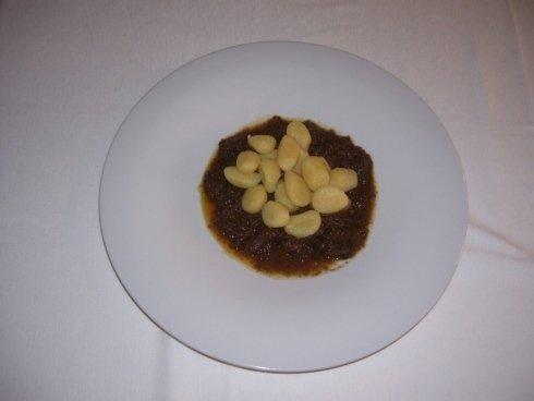 Gnocchi con sugo