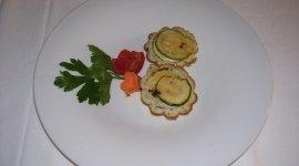 Crostini con zucchine