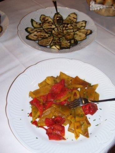 Contorni di verdure di stagione