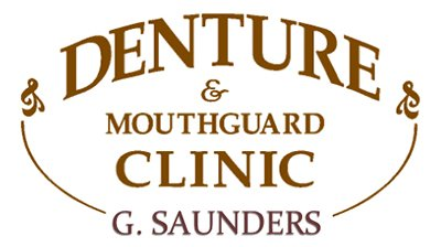 gary saunders denture and mouth guard clinic logo