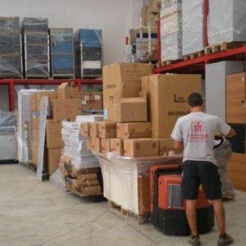 Traslochi Ilari Mario, Pomezia (RM), archivio pacchi imballati