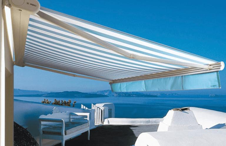 tenda da esterno tecnica