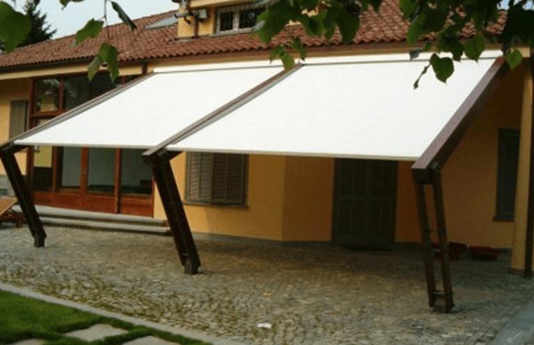 tende da esterno di una villetta
