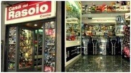 facciata ed interno negozio