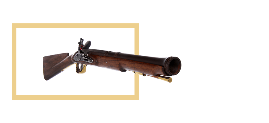 Muskets, rifles & carbines