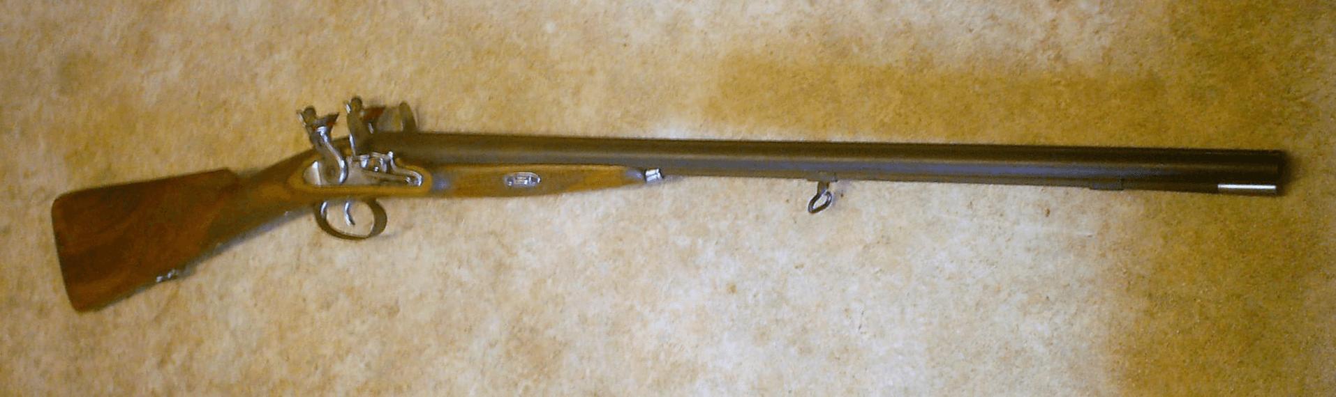 Double Barrelled Shotgun (Flintlock)