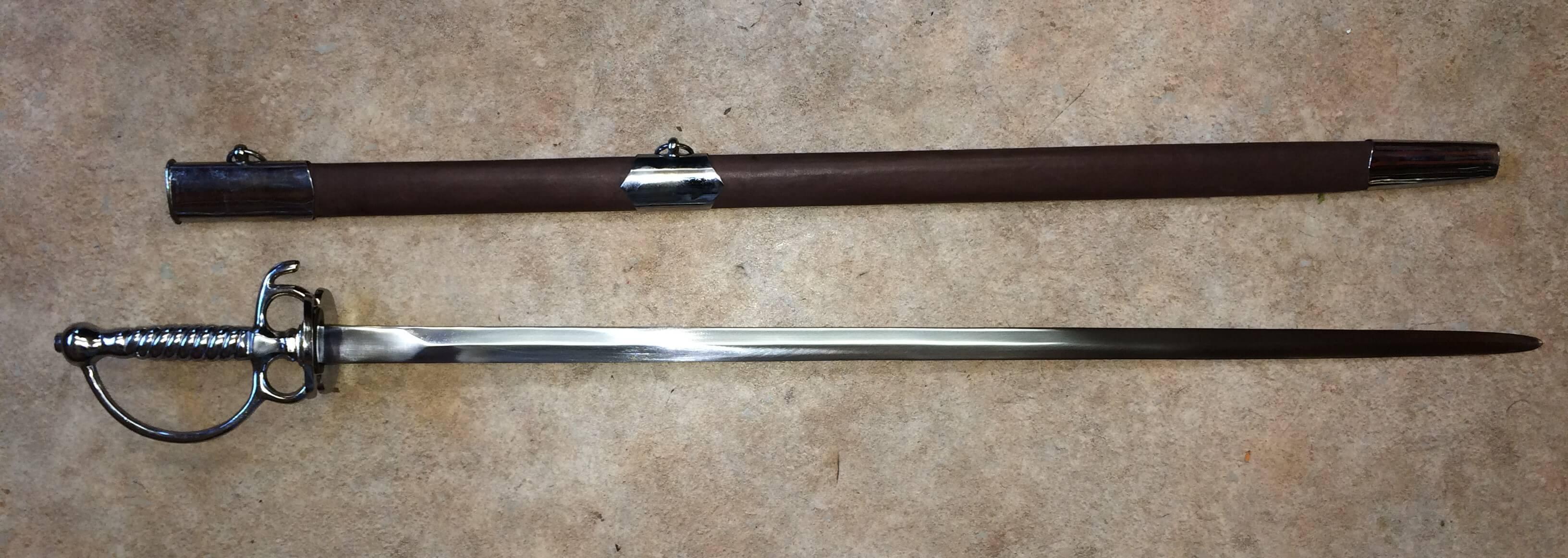 18th Century Court Sword