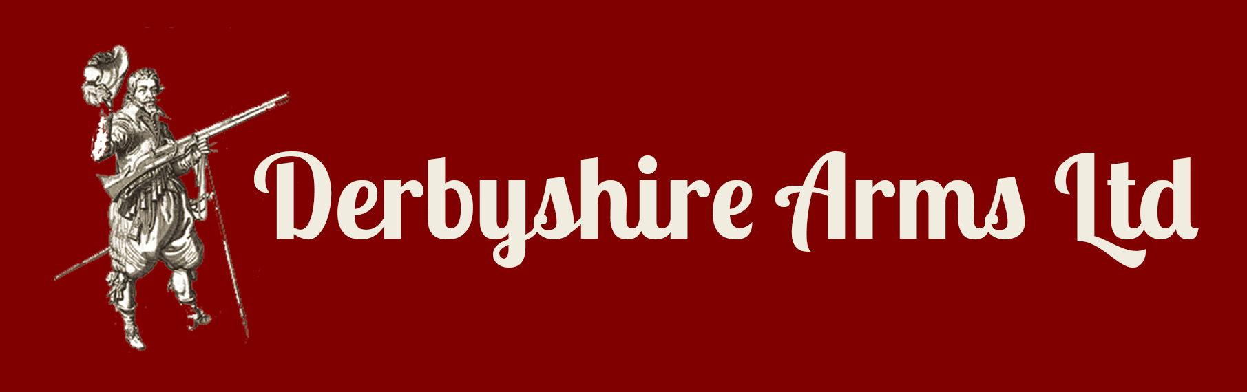 derbshire  logo with text