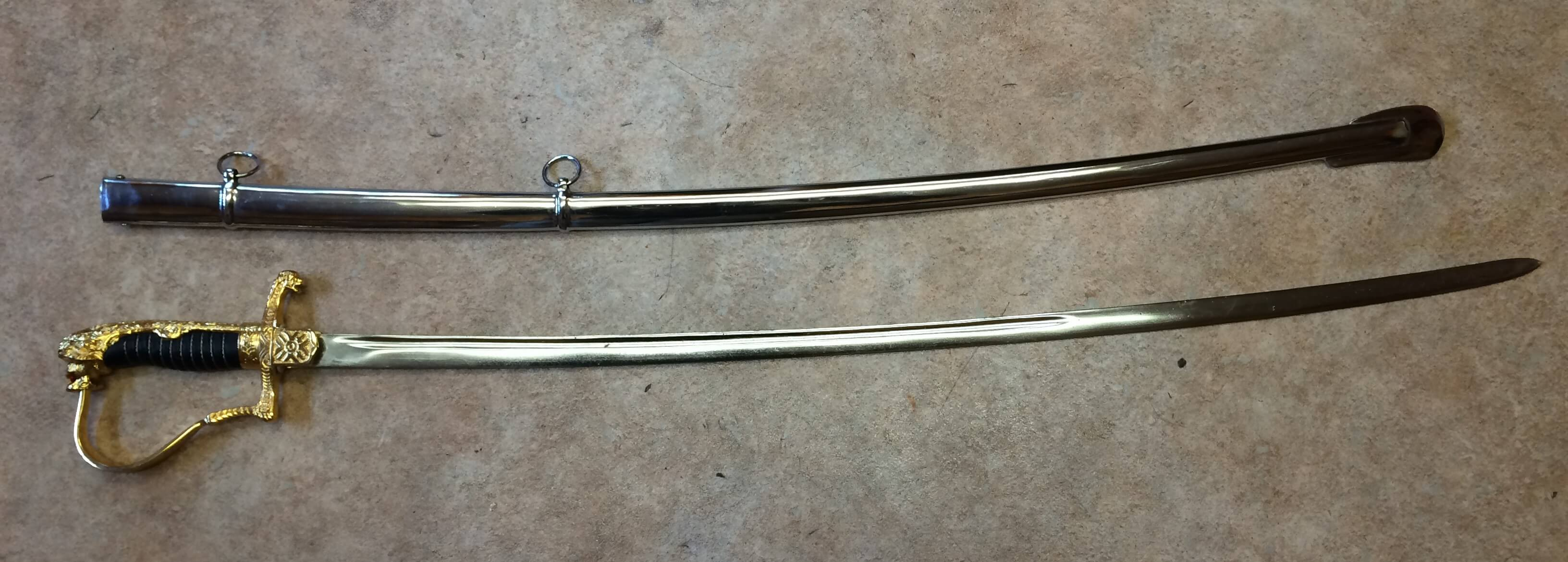 1796 Lion-headed Prussian Officer's Sabre