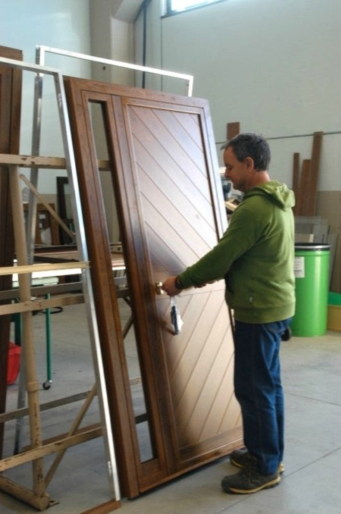 realizzazione in legno