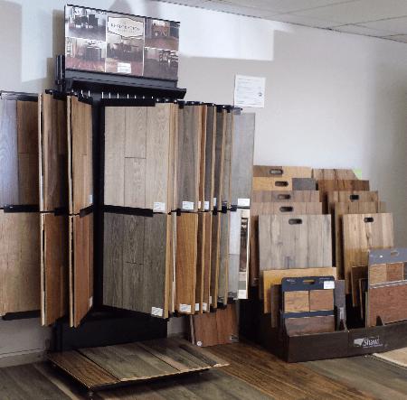 Selection of hardwood flooring