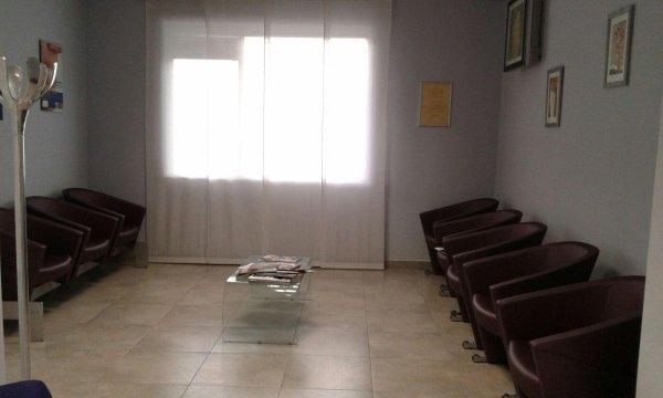 sala d'attesa di odontoiatria
