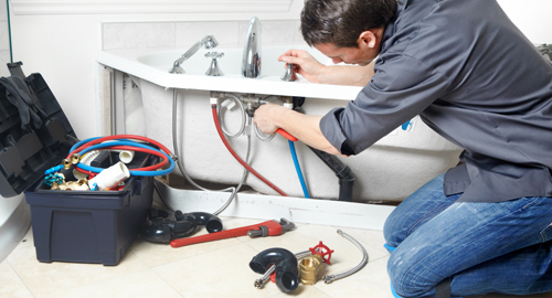 Experienced plumber offering master bathroom services in Hamden, CT