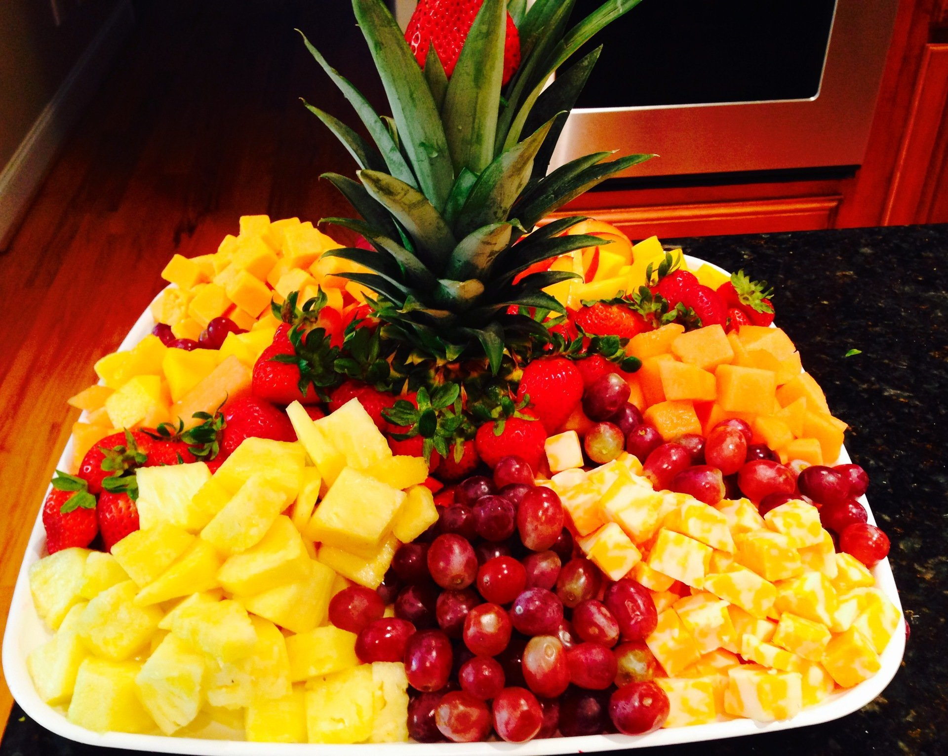 fruits arrangement by carter brothers in High Point, NC