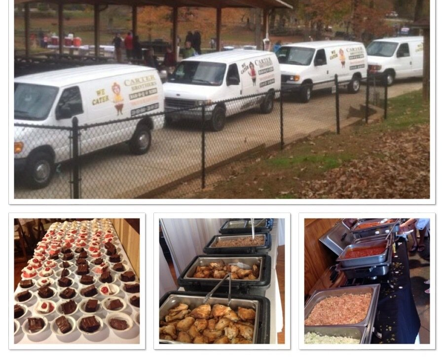 Carter brothers van and food in High Point, NC