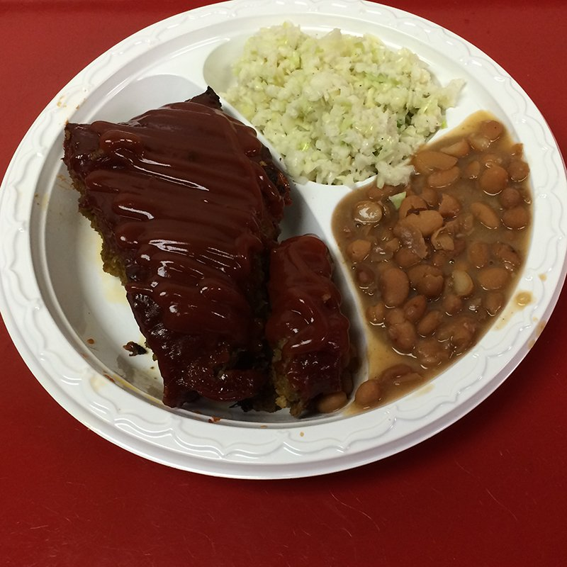 Barbecue food served in High Point, NC