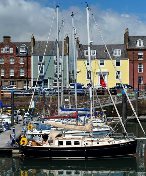 Arbroath Harbour, Scotland
