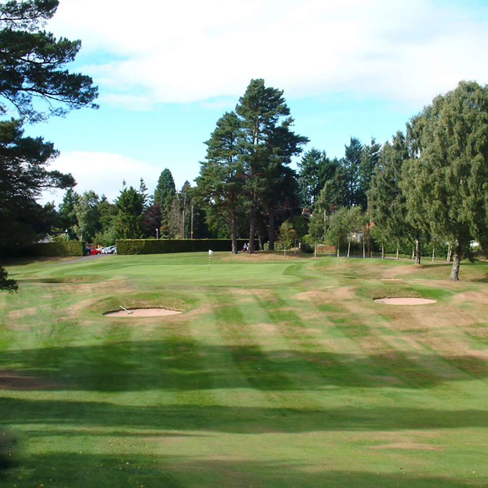 Scottish golf course for the pairs challenge