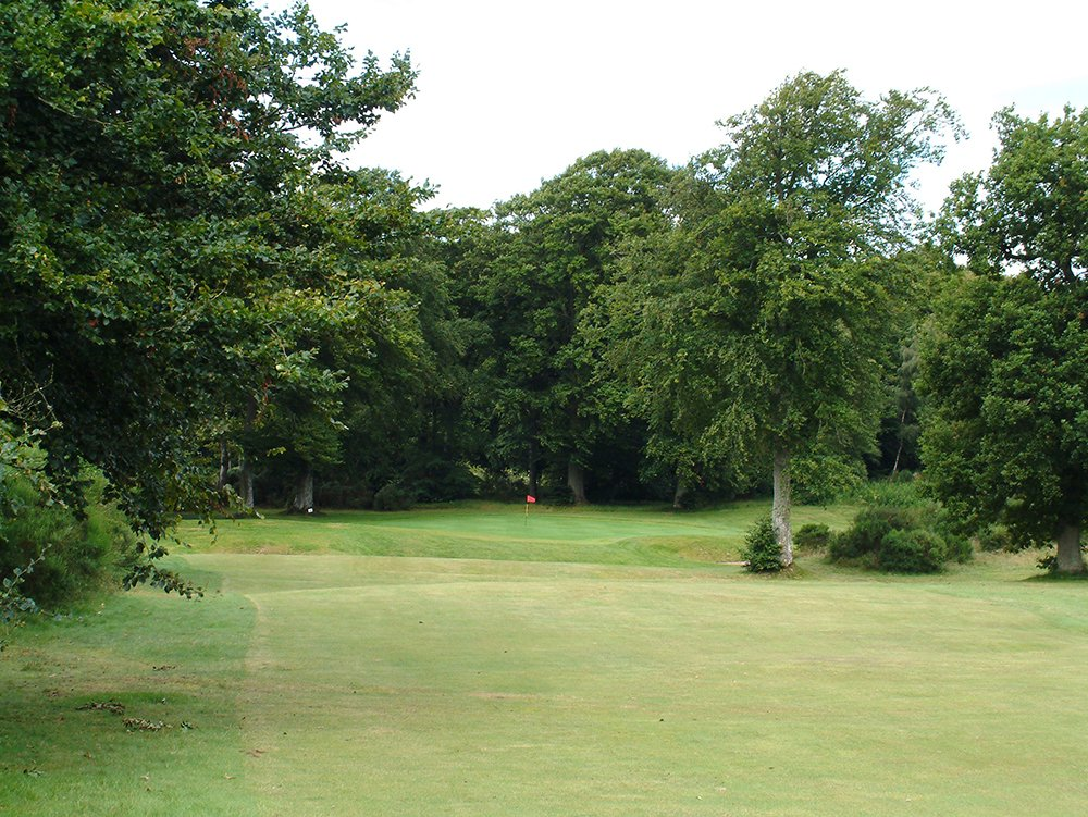 View of the Kirriemuir golf club