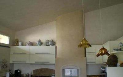 Decori edili in marmorino Prato