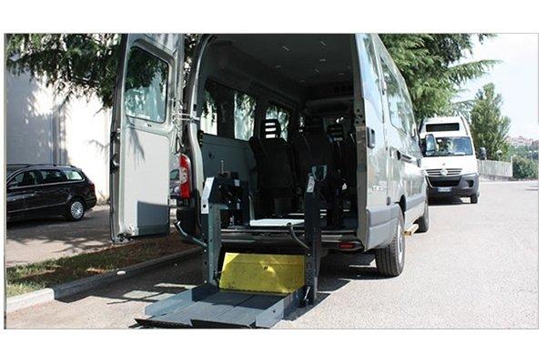 minibus disabili