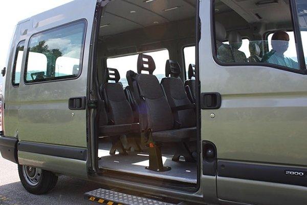 trasporto per disabili