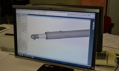 progettazione cilindri standard