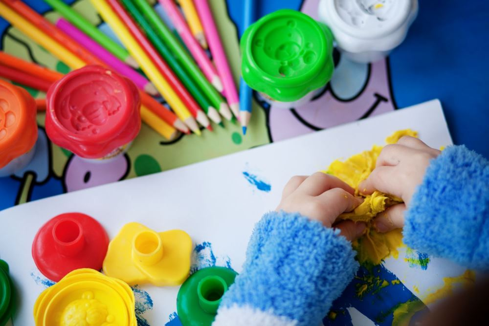A daycare painting project in Mendon, NY