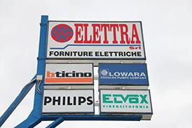 Distribuzione materiale elettrico